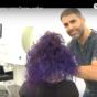 צבעי שיער זוהרים   Crazy color
